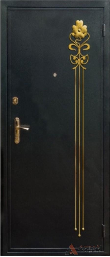 кованые накладки на железную дверь