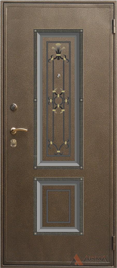 стальные двери с отделкой ковки каталог