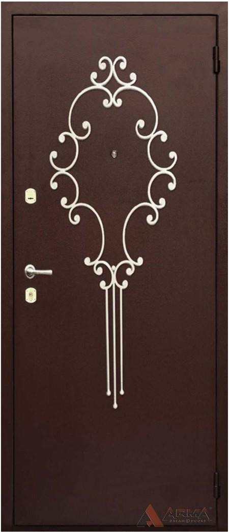 кованые элементы для стальных дверей