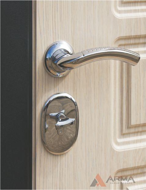 стальные дверь модерн