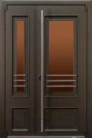 """Двери серии """"Чикаго Glass"""" (Скоба)"""