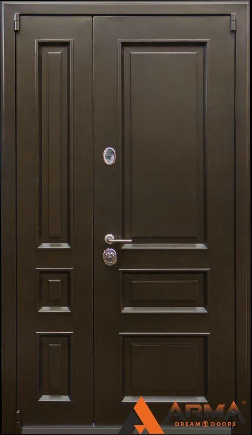 металлические входные двери 1300х2100