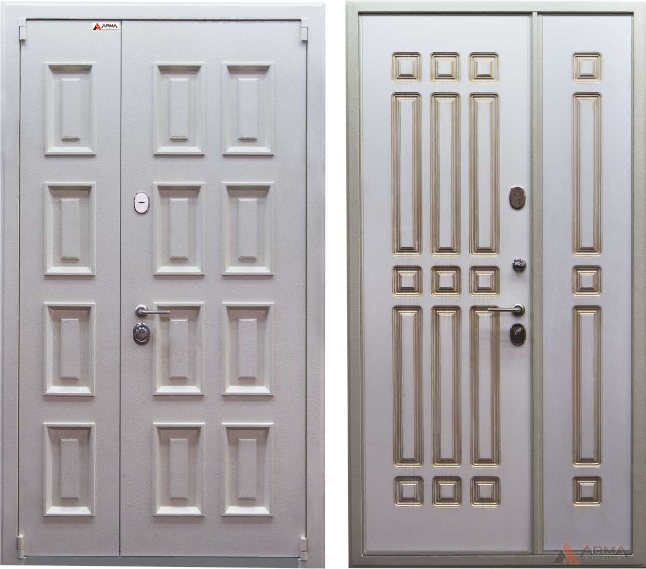 """Двери серии """"Домино White"""""""