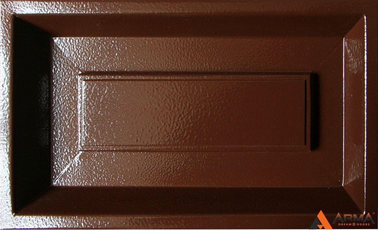 Шагрень коричневая + цинкогрунт