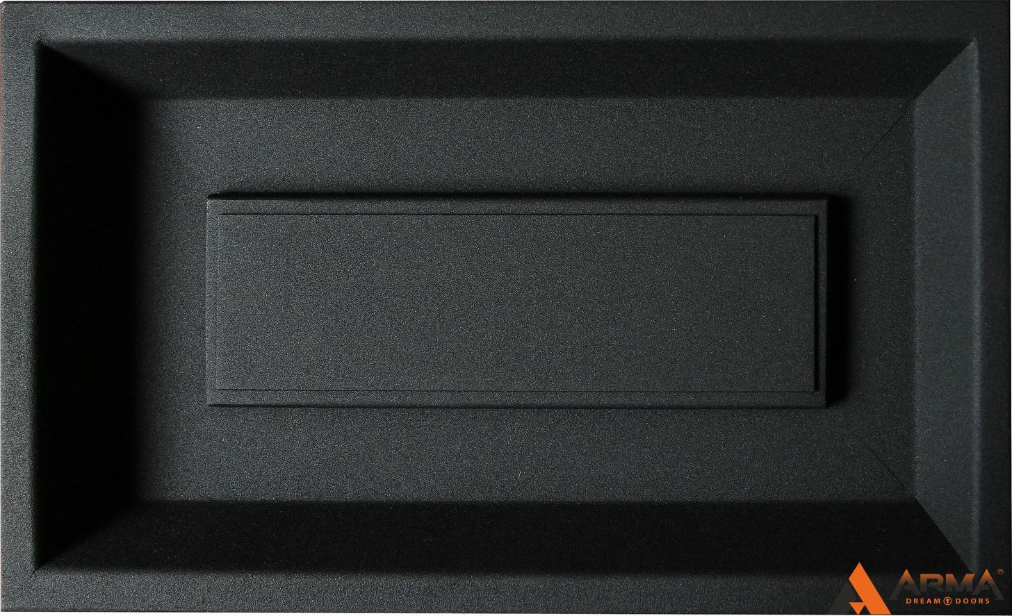 Муар черный + цинкогрунт