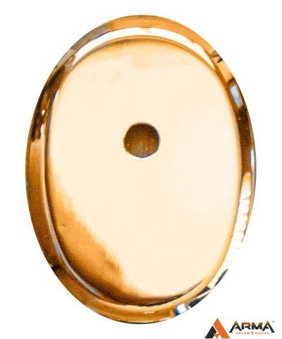 Накладка Апекс DP-К-11-G (овальная под ШТОК) золото
