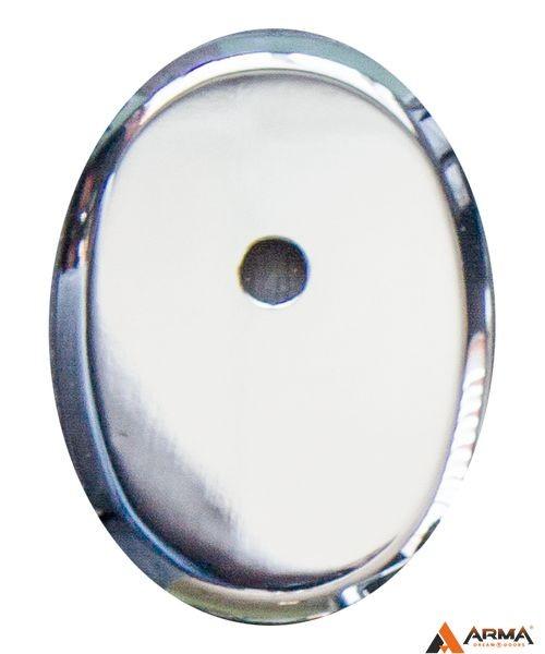 Накладка Апекс DP-К-11-СR (овальная под ШТОК) хром