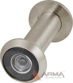 Глазок дверной Armadillo (Армадилло) пластиковая оптика DV2 SN матовый никель