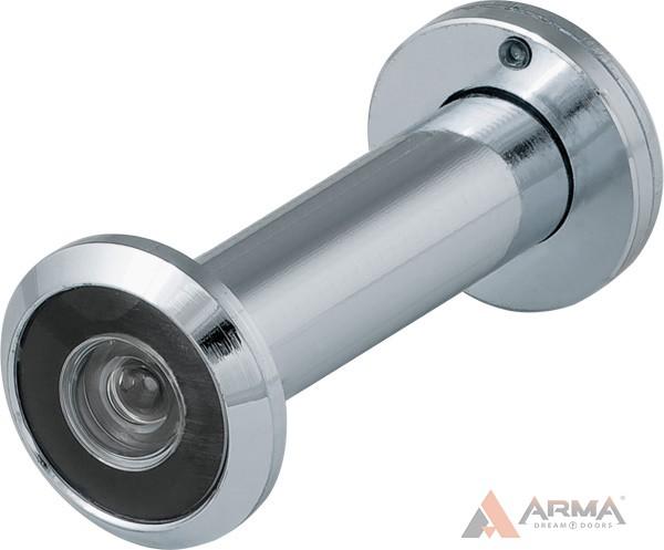 Глазок дверной Fuaro (Фуаро) (оптика пластик, угол обзора 200) DVZ2 CP хром