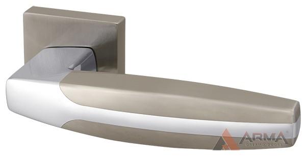Ручка раздельная Armadillo (Армадилло) ARC USQ2 SN/CP-3 Матовый никель-хром