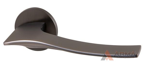 Ручка раздельная Armadillo (Армадилло) AQUA URS BPVD-77 Вороненый никель