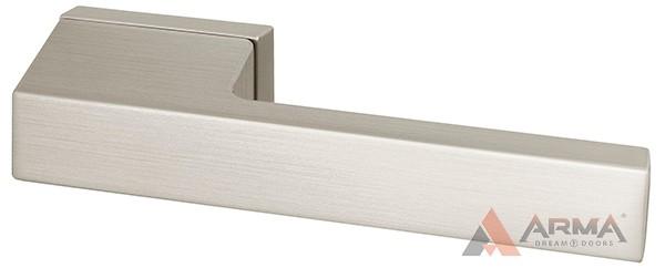 Ручка раздельная Armadillo (Армадилло) BRICK UCS SN-3 Матовый никель