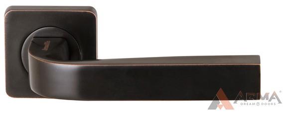 Ручка раздельная Armadillo (Армадилло) KEA SQ001-21ABL-18 Темная медь