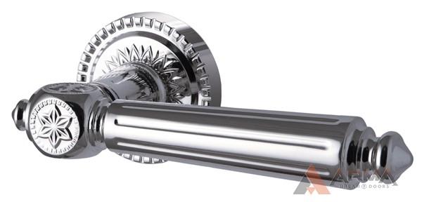 Ручка раздельная Armadillo (Армадилло) Matador CL4 СР-8 Хром