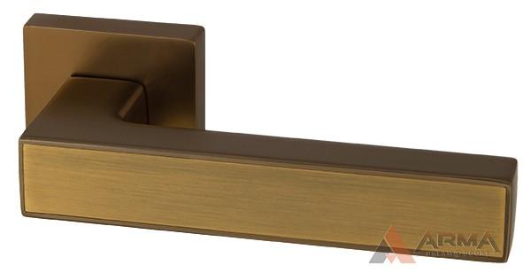 Ручка раздельная Armadillo (Армадилло) SCREEN USQ8 BB/SBB-17 Коричневая бронза-матовая коричневая бронза