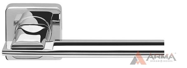 Ручка раздельная Armadillo (Армадилло) TRINITY SQ005-21CP-8 Хром