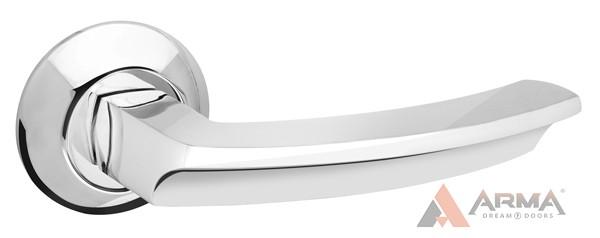 Ручка раздельная Fuaro (Фуаро) ALFA AR CP-8 Хром