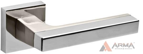 Ручка раздельная Fuaro (Фуаро) FLASH DM CP/SN-8 Хром-матовый никель