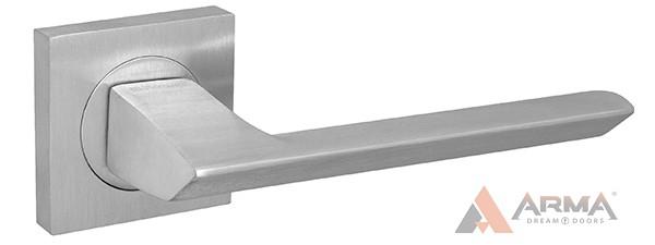 Ручка раздельная Fuaro (Фуаро) SAMPLE KM SSC-16 Cатинированный хром