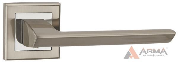 Ручка раздельная Punto (Пунто) BLADE QL SN/CP-3 Матовый никель хром