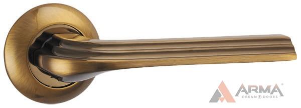 Ручка раздельная Punto (Пунто) BOLERO TL CFB-18 Кофе глянец