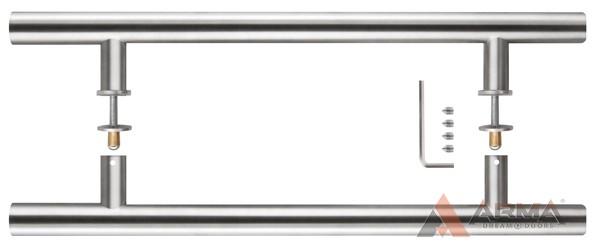 Ручка-скоба PH-22-25 300-INOX Fuaro (Фуаро) (нержавейка) 2