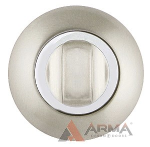 Ручка поворотная Ajax (Аякс) BK6 JR SN/CP-3 матовый никель хром