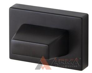 Ручка поворотная Armadillo (Армадилло) WC-BOLT BK6 UCS BL-26 черный