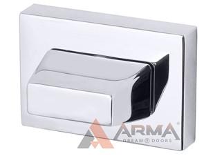 Ручка поворотная Armadillo (Армадилло) WC-BOLT BK6 UCS СР-8 Хром