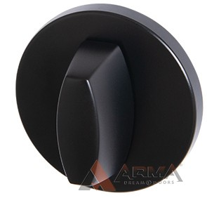 Ручка поворотная Armadillo (Армадилло) WC-BOLT BK6 URS BL-26 Черный