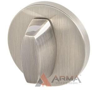 Ручка поворотная Armadillo (Армадилло) WC-BOLT BK6 URS SN-3 Матовый никель