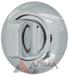 Ручка поворотная Armadillo (Армадилло) WC-BOLT BK6-1CP-8 Хром