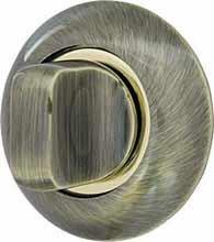 Ручка поворотная Armadillo (Армадилло) WC-BOLT BK6-1ABGP-7 Бронза-золото