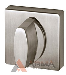 Ручка поворотная Armadillo (Армадилло) WC-BOLT BK6USQ SN-3 Матовый никель