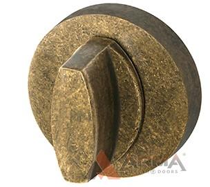 Ручка поворотная Armadillo (Армадилло) WC-BOLT BK6/URB OB-13 Античная бронза