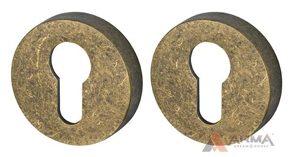 Накладка CYLINDER Armadillo (Армадилло) ET URB OB-13 Античная бронза