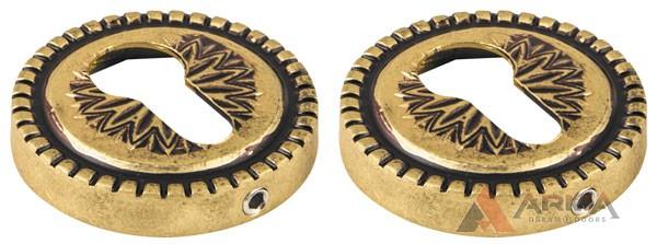Накладка CYLINDER Armadillo (Армадилло) ETCL-FG-10 Французское золото