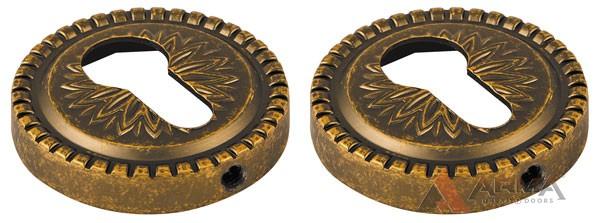 Накладка CYLINDER Armadillo (Армадилло) ETCL-OB-13 Античная бронза