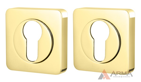 Накладка CYLINDER Armadillo (Армадилло) ETSQ-21GP-2 Золото