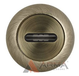 Накладка под Fuaro (Фуаро) сувальдный ключ SC RM ABG-6