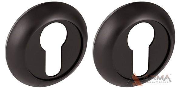 Накладка под Fuaro (Фуаро) цилиндр ET RM BL-24 Чёрный