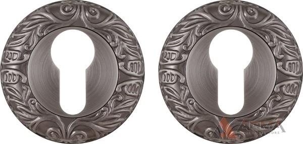 Накладка под Fuaro (Фуаро) цилиндр ET SM AS-3 Античное серебро