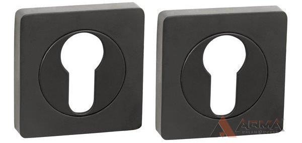 Накладка под Punto (Пунто) цилиндр ET ZQ BL-24 Чёрный
