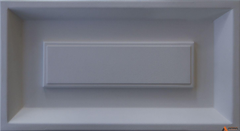 Муар белый RAL 9016 SA3169
