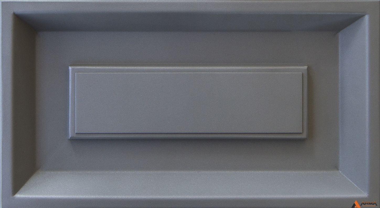 Муар серый с блестками S2307G