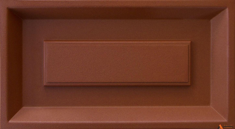 Муар глиняный коричневый Y4304I