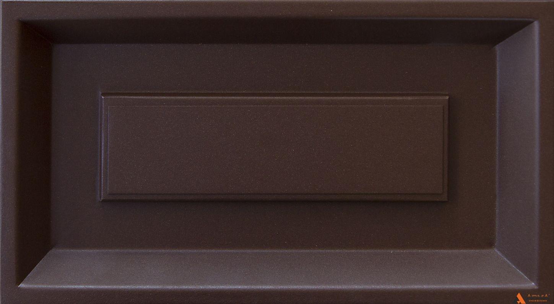 Муар шоколадно-коричневый Y4306I
