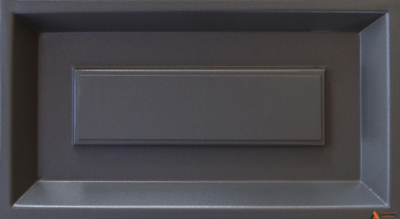 Муар серый с блестками YW355F