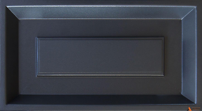 Муар антрацитово-серый с блестками YW361F