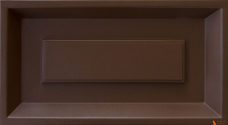 Муар махагон коричневый YX355F